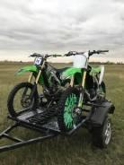 Прицеп для перевозки кроссовых мотоциклов