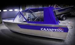"""Лодка моторная Салют-430 в комплектации """"M Scout"""", Тр380(Вариант 2)"""