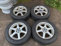 Диски Feid R17 + Bridgestone Blizzak DM-V2, 225/60 R17 из Японии