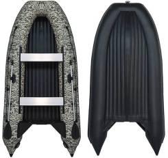 Лодка SMarine AIR Standard-380 (Зеленый Пиксель/Черный)