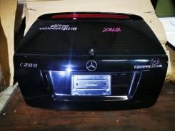 Крышка багажника W204 S204 универсал чёрная (/Gold Masters)