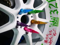 Гайки на колеса M12x1.25 Япония, 326 power size L + пики