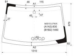 Стекло Лобовое Toyota Passo/Daihatsu Boon/Sirion 04-09 XYG арт. M301S LFW/X, переднее