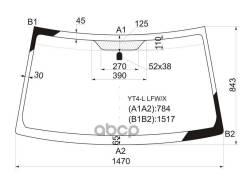 Стекло Лобовое Suzuki Escudo/Grand Vitara Suv 3/5d 05-15 XYG арт. YT4-L LFW/X, переднее