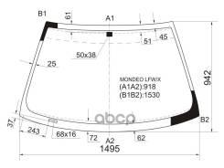 Стекло Лобовое Ford Mondeo/Contour 4/5d 93-00 XYG арт. Mondeo LFW/X, переднее