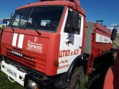 Пожарная машина на шасси Камаз