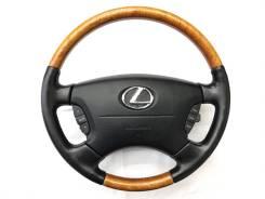 Оригинальный обод руля с косточкой дерево Lexus LS430 Celsior Crown