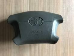 Подушка безопасности в руль (водителя) Toyota с Зарядом серо коричнева