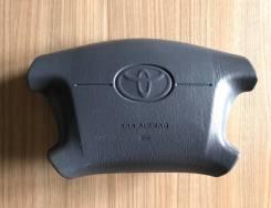 Подушка безопасности в руль (водителя) Toyota с Зарядом серо-синяя
