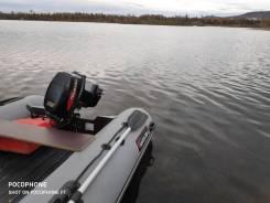 Лодка 360 нднд и мотор тохатсу 18л. с