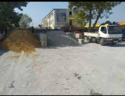 Щебень песок цемент земля перегной