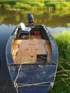 Продам водометную ПНД лодку с тоннелем 50 л. с.