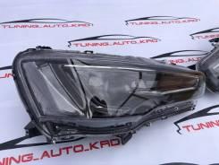 Фары Mitsubishi Lancer с 2006 по 2016 год темные