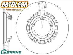 Диск тормозной перед. G-brake Hyundai Starex / H1 97-04 Porter 04