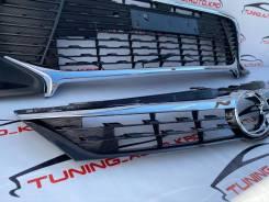 Решетка радиатора Toyota Camry 55 (Верх/низ) стиль Exclusive