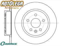 Диск тормозной G-brake Chevrolet AVEO/Cruze J300 11-/OPEL Astra J 10-