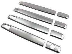 Накладки на ручки Toyota Ractis 120 (Нержавеющая сталь)