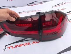 Задние фонари стоп сигналы Mitsubishi Pajero Sport 08-16 год красные