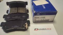 Колодки тормозные задние Hyundai Sonata, GETZ, Tucson 04-KIA Sportage 04