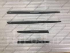 Модинги Lexus LX570, LX450d, Toyota land cruiser 200 Узкие, черные