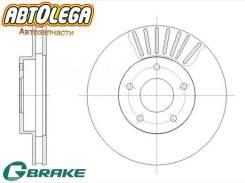 Диск тормозной G-brake Nissan R'nessa N30 Gloria/Cedric 32 33 34