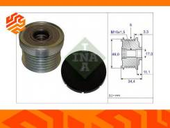 Ременной шкив генератора INA 535018310 (Германия)