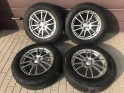 Зимние Колёса Michelin 225/65R17 на литье Weds 5х114,3
