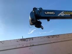 Крановая установка Unic 504 + пульт ДУ.