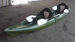 Каяк двухместный для рыбалки Duo