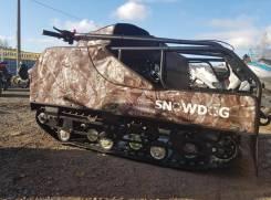Мотобуксировщик Baltmotors SnowDog Standard 15, 2020
