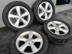 Оригинальные литые диски Nissan R17, 5/114