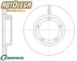 Диск тормозной передний G-brake MMC Canter FE507,527,538, FE50,5#
