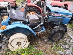 Японский мини трактор Mitsubishi MT1401 на запчасти.