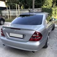 Лип спойлер на Mercedes W211 (Мерседес 211) 2002-2009г