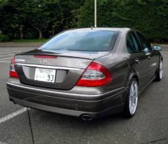Лип спойлер на багажник Mercedes W211 (Мерседес 211) 2002-2009г