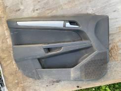 Обшивка двери передняя левая Opel Astra H 04-15