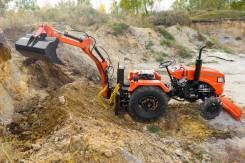 Экскаваторная установка на базе трактора Уралец