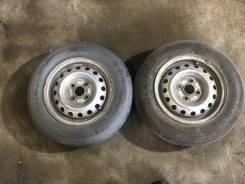 Колеса с летней резиной 4х100 Bridgestone Ecopia R680 155/80 R13