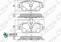 Колодки тормозные передние BMW 1 E81/E82/E87/E88 03- [ST34112288854]