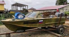 Продам Лодку Казанка 2м с двигателем сузуки дт55