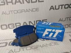 Колодки тормозные задние FIT FP0900