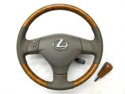 Оригинальный обод руля с косточкой под дерево Lexus
