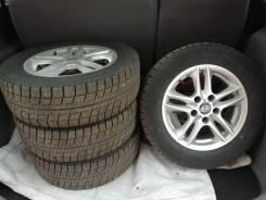 Продам колёса Bridgestone 195.65.15 сверловка 5х114.3