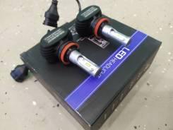 Лампы светодиодные H11/H8 (LED Headlight) 12-32V 6500K, 4000LM
