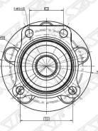 Ступичный узел SAT перед Subaru Exiga/Forester/Impreza/Legacy/XV 13- IJ123161/ NSK 58BWKH04 /IJ123161/58BWKH04N/HUB213T-4/ST-28373-FG000