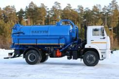 МВС-10 на шасси КАМАЗ-53605-48 илососная Е-5