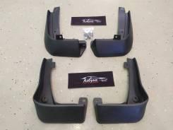 Брызговики Комплект 4шт Honda Vezel (RU1, RU2, RU3, RU4) 13-18г. Черные