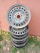 Комплект штампованых дисков