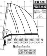 КМУ Манипулятор Fassi F195 A 023