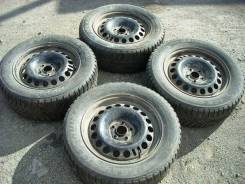 Диски R16 штамп 5х105 и рез Bridgestone Ice Cruiser 5000 215/60 4шт